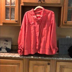 Salmon lightweight jacket Maurice's 3